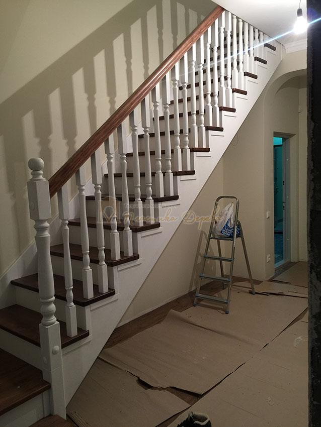 Одномаршевая лестница (фото 9)