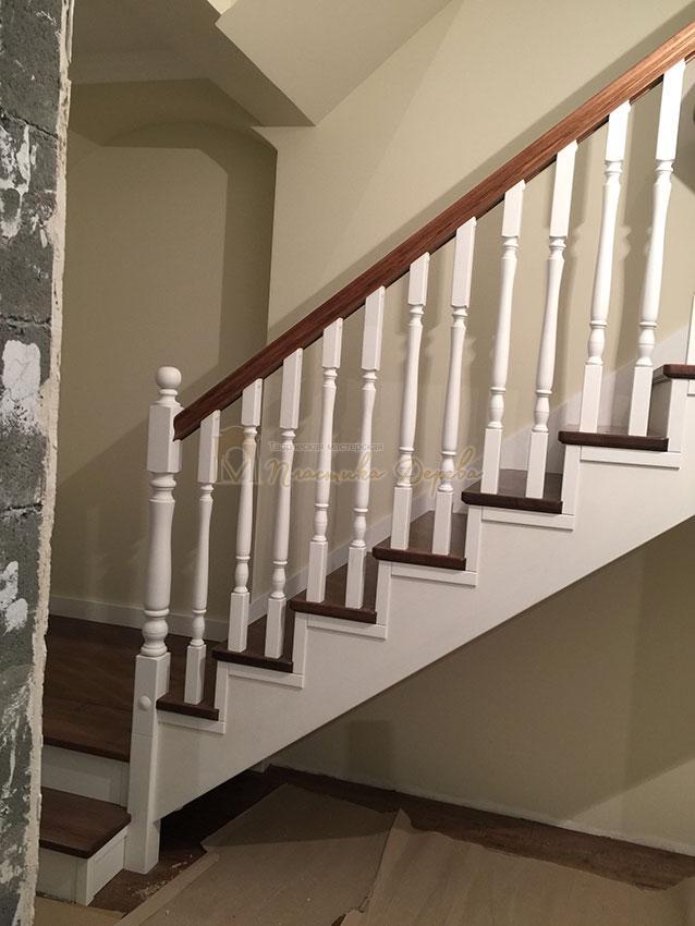 Одномаршевая лестница (фото 12)