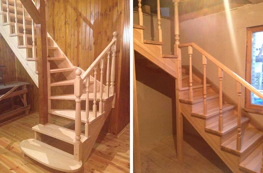 Дизайн деревянных лестниц (фото изделий)