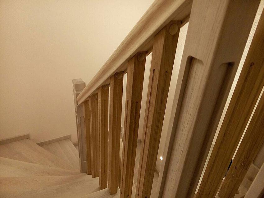 Деревянные лестницы. Фото изделия