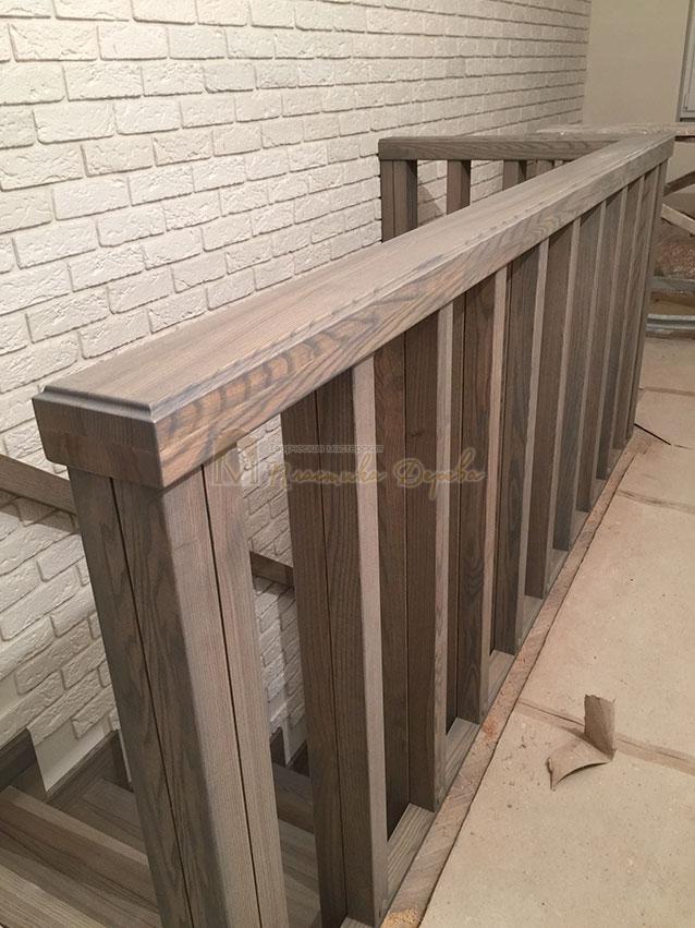 Лестница со ступеньками без свеса (фото 7)