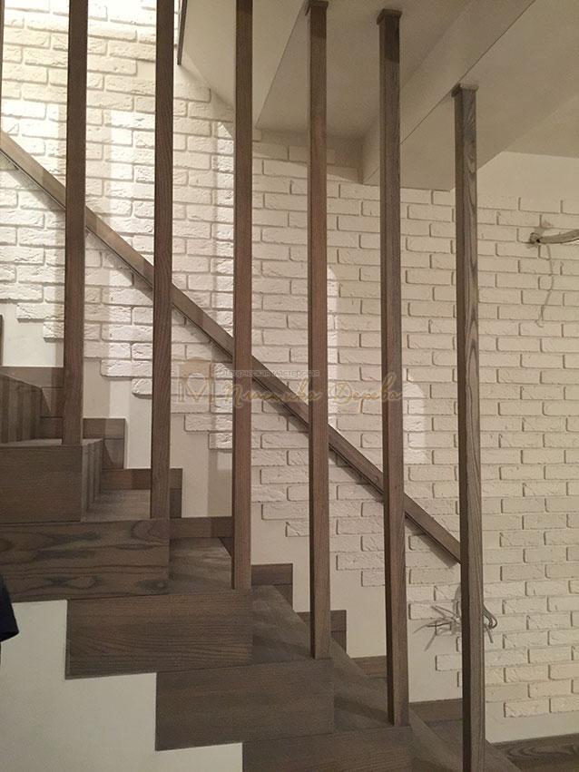 Лестница со ступеньками без свеса (фото 10)