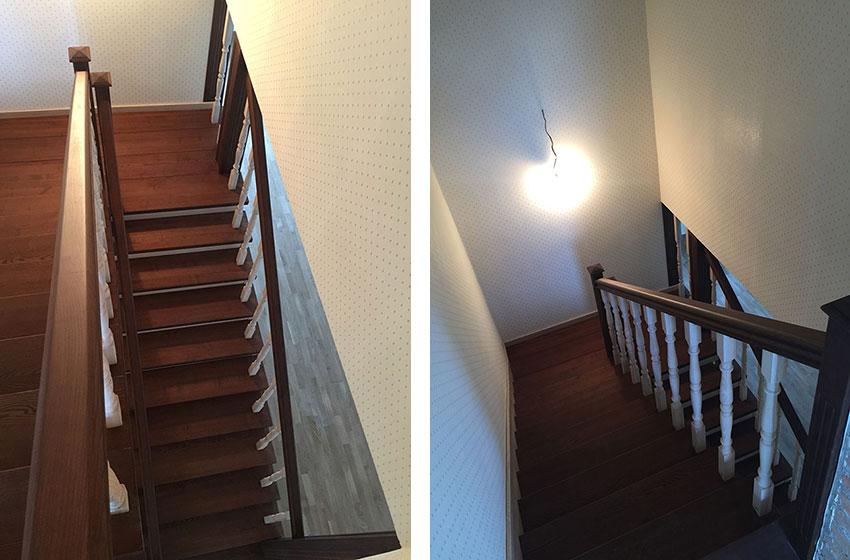 Облицовка бетонной лестницы (фото)