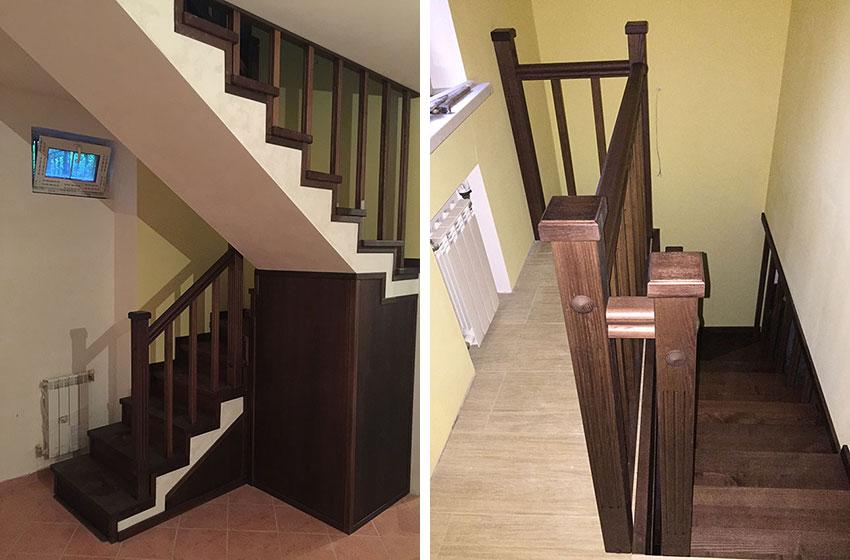 Обшивка бетонных лестниц (фото)