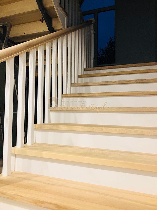 Лестница в Американском стиле (фото 2)