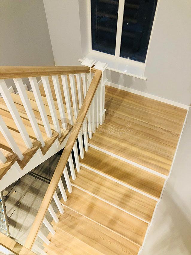 Лестница в Американском стиле (фото 3)