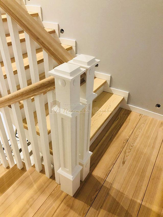 Лестница в Американском стиле (фото 4)