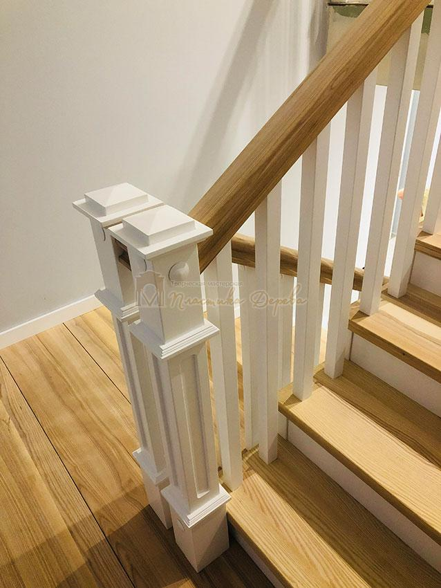 Лестница в Американском стиле (фото 5)