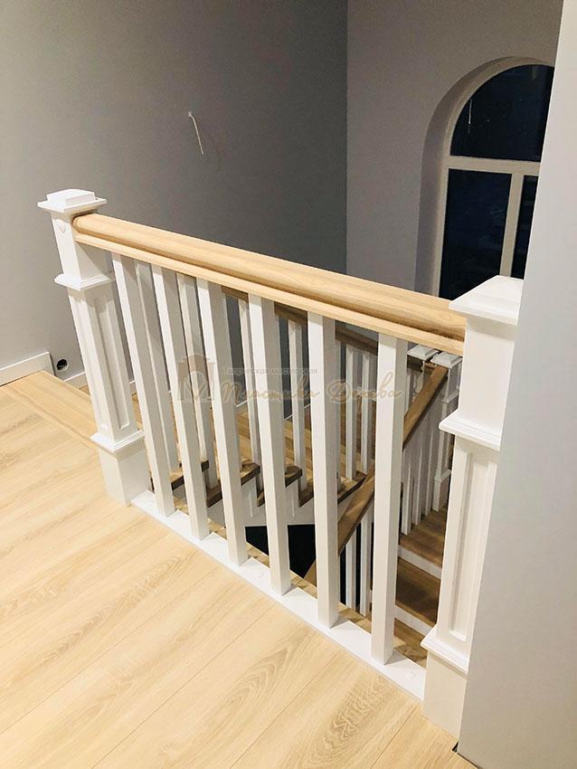 Лестница в Американском стиле (фото 7)