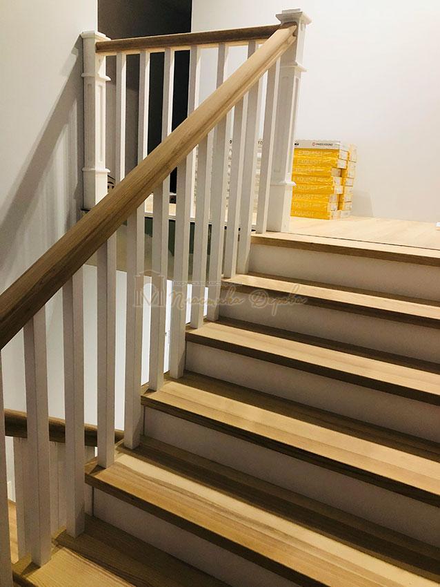 Лестница в Американском стиле (фото 8)