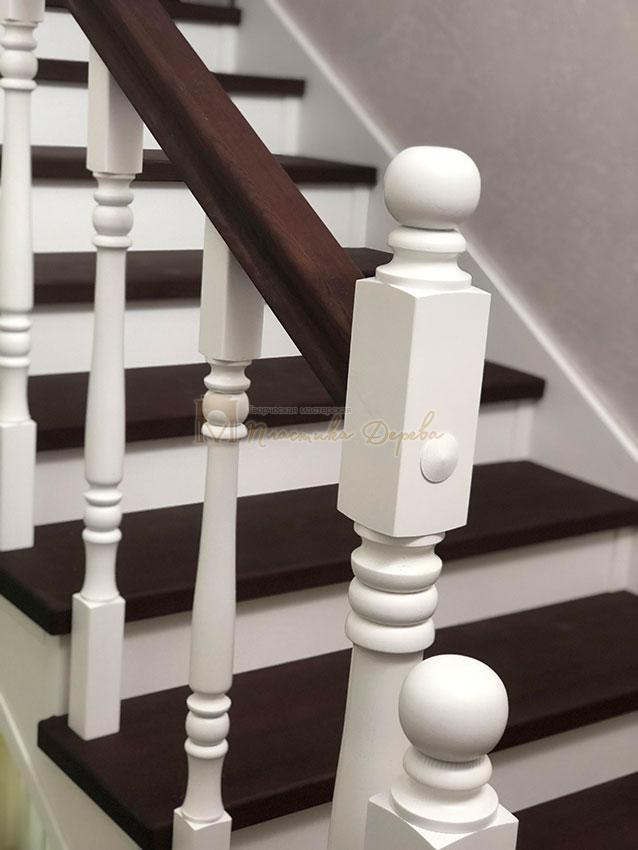 Обшивка лестниц деревом (фото 2)