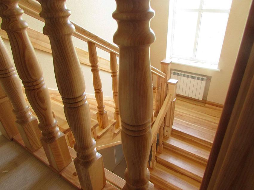 Лестница с балюстрадой (фото)