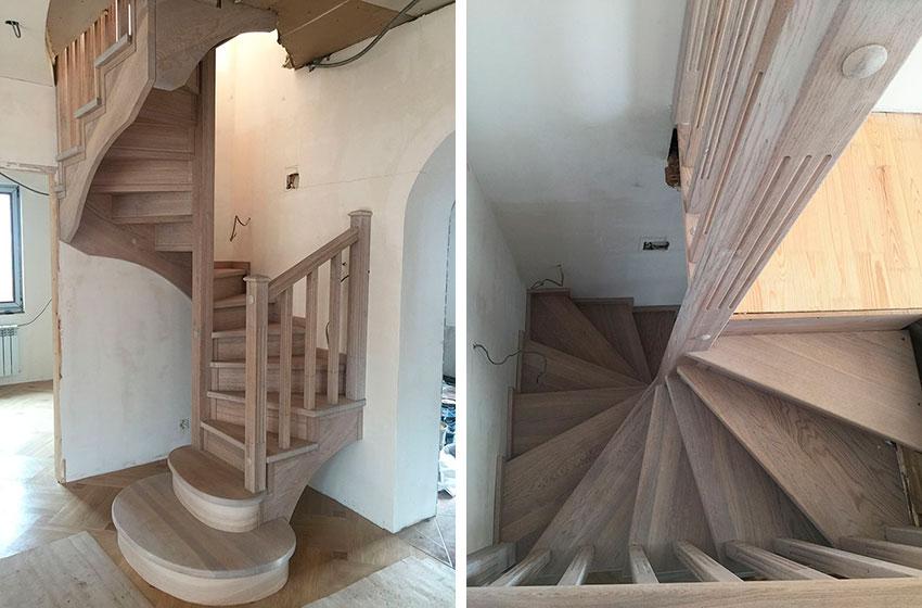 Спиральная лестница (фото)