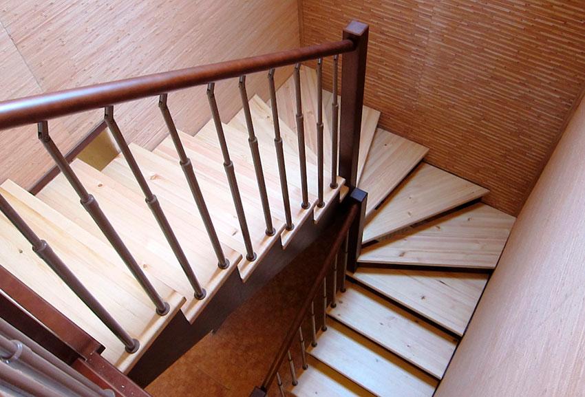 Забежная лестница (фото)