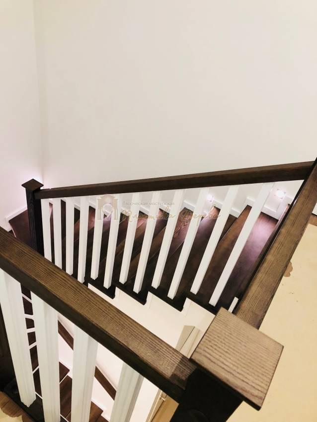 Обшивка бетонной лестницы деревом с. Гореничи (фото 5)