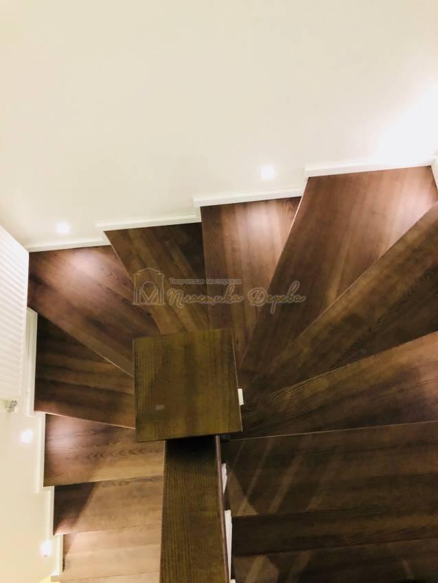 Обшивка бетонной лестницы деревом с. Гореничи (фото 7)