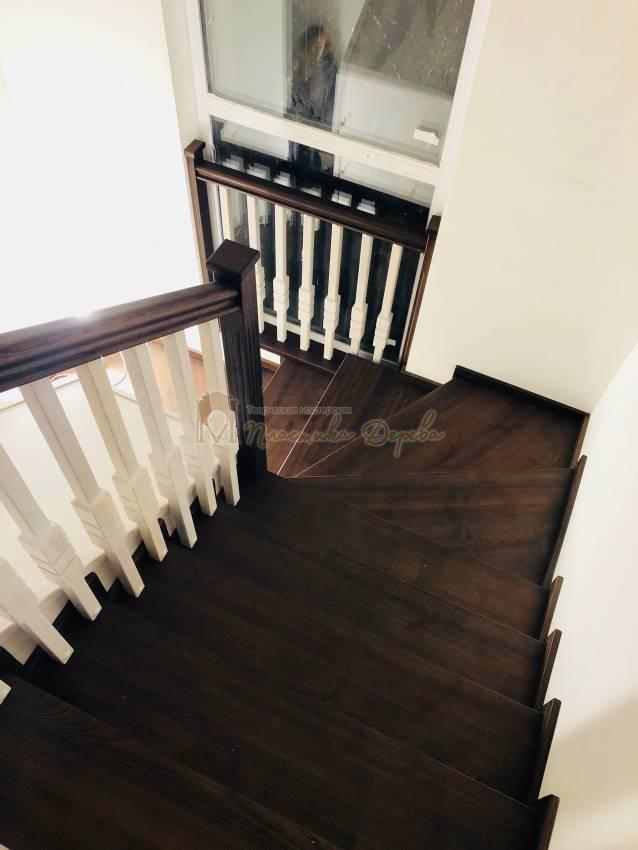 Деревянная лестница - Александровка (фото 2)