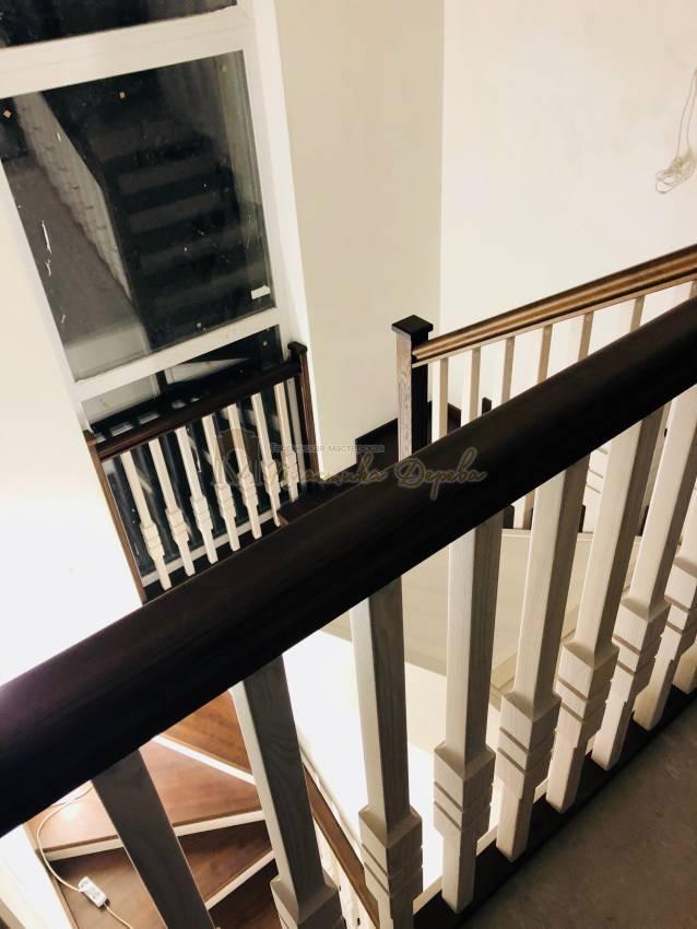 Деревянная лестница - Александровка (фото 3)