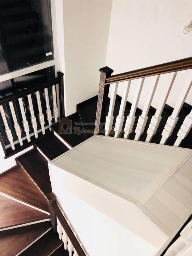 Деревянная лестница - Александровка (фото 4)