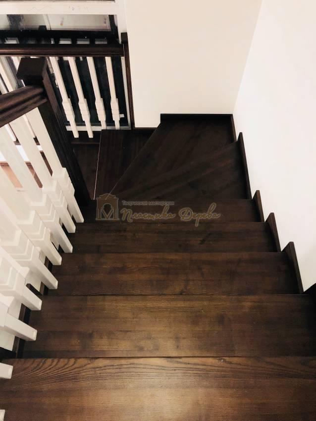 Деревянная лестница - Александровка (фото 5)
