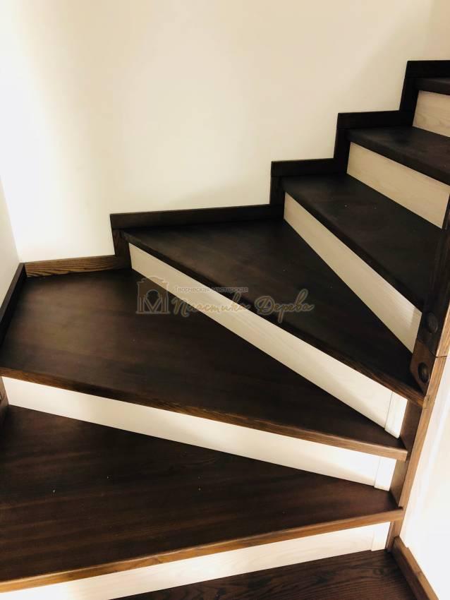 Деревянная лестница - Александровка (фото 7)
