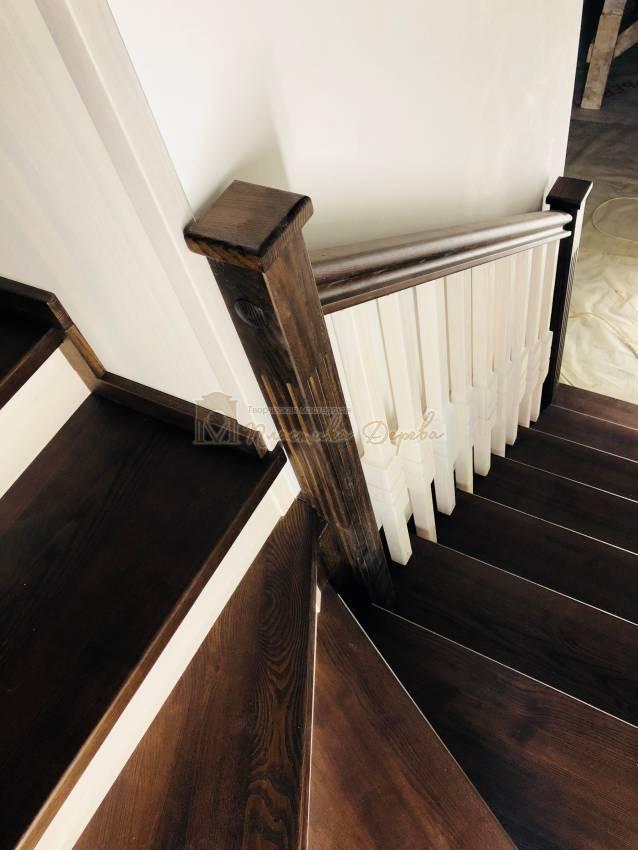 Деревянная лестница - Александровка (фото 8)
