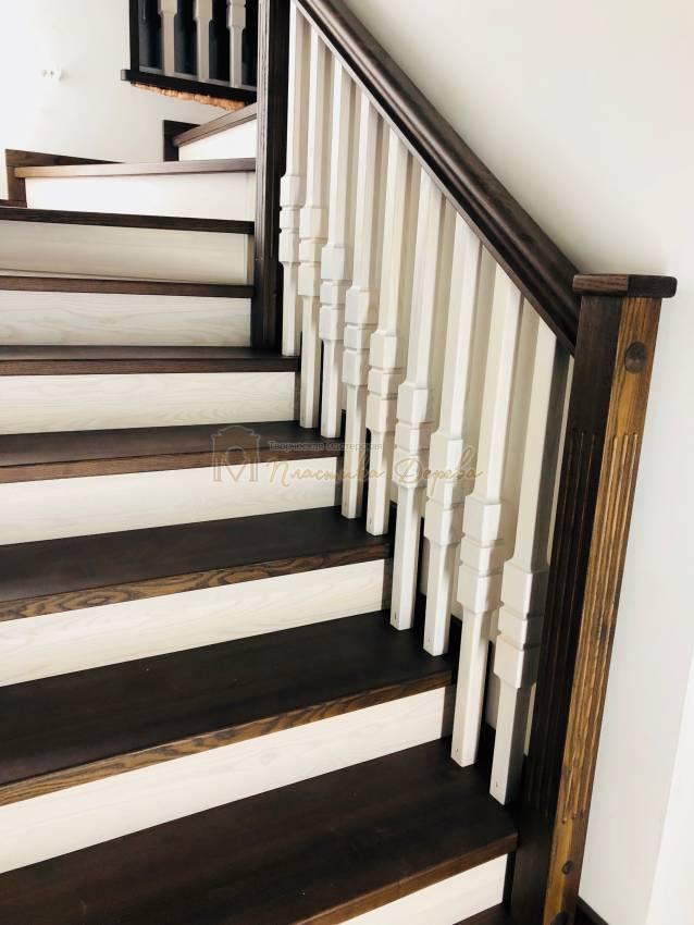 Деревянная лестница - Александровка (фото 9)