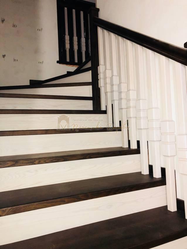 Деревянная лестница - Александровка (фото 10)