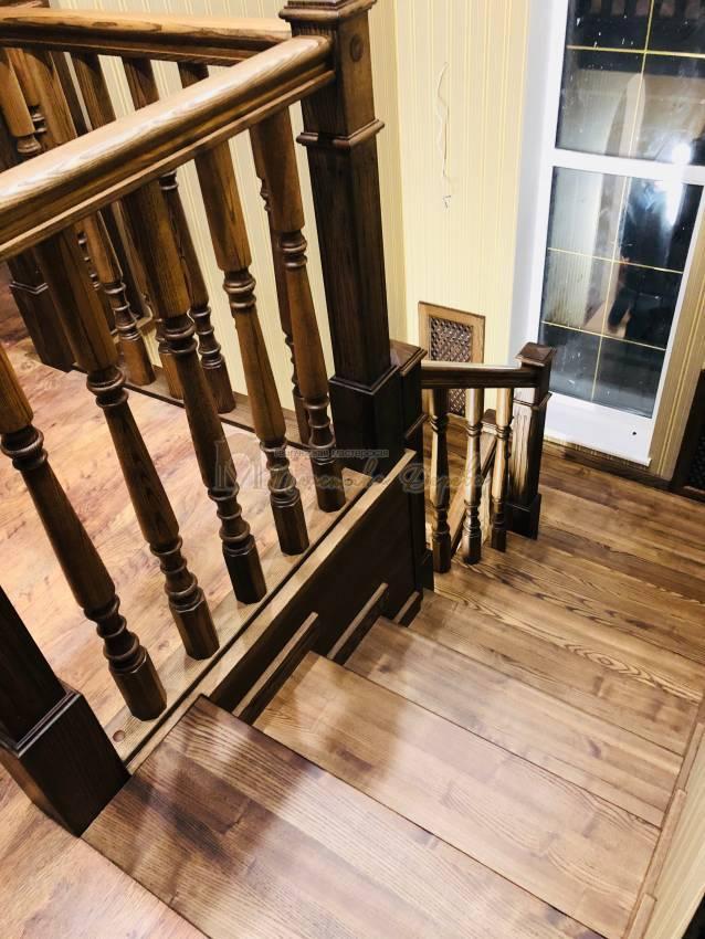 Облицовка бетонной лестницы в Киеве (фото 5)