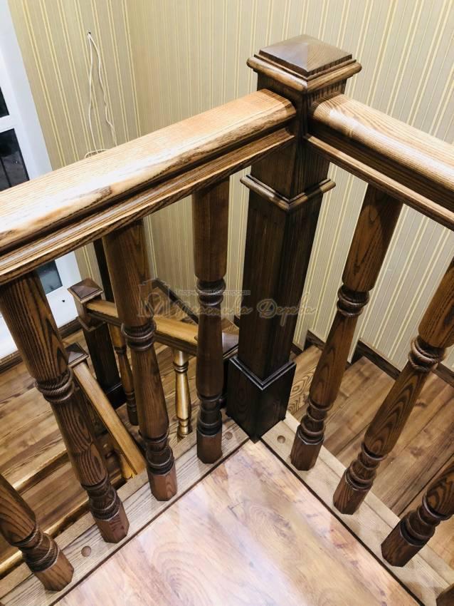 Облицовка бетонной лестницы в Киеве (фото 7)