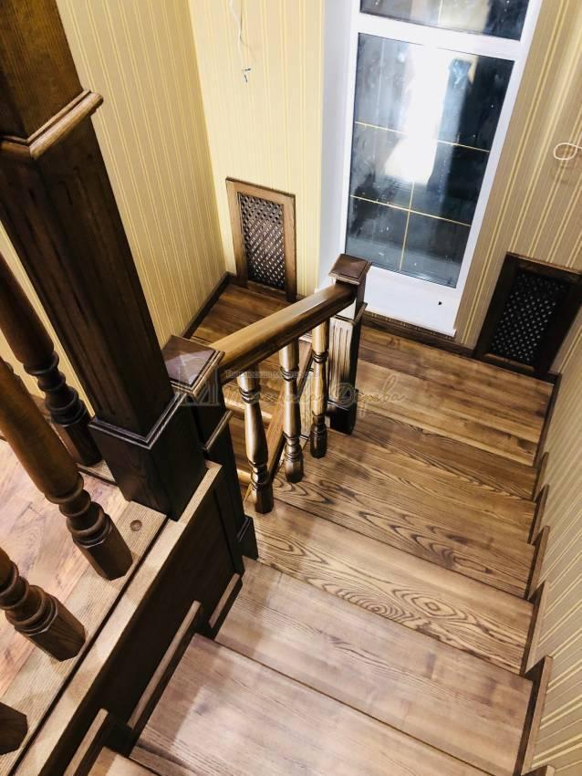 Облицовка бетонной лестницы в Киеве (фото 8)