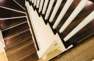 Обшивка бетонной лестницы деревом с. Гореничи (превью)