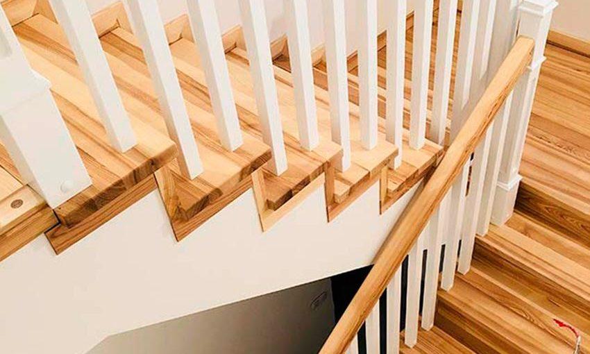Лестница в стиле кантри (фото)