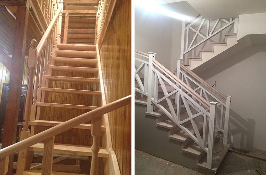 Декор дерев'яних сходів (фото)