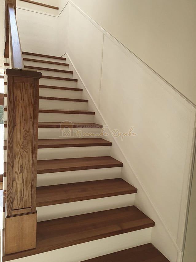 Лестница из дерева «Аннэт» (фото 5)