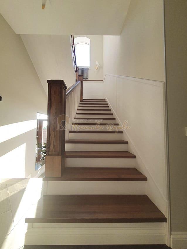 Лестница из дерева «Аннэт» (фото 6)