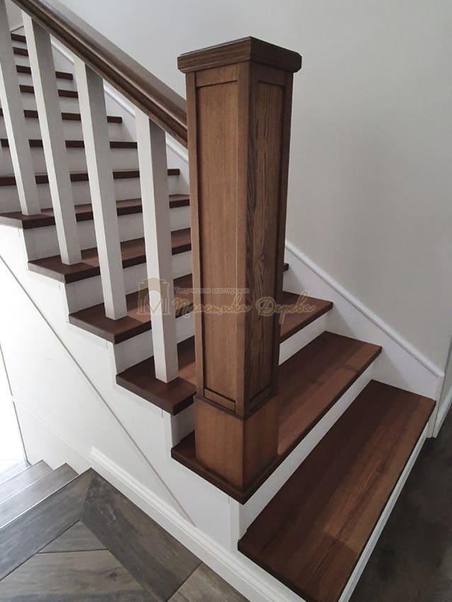 Лестница из дерева «Аннэт» (фото 9)