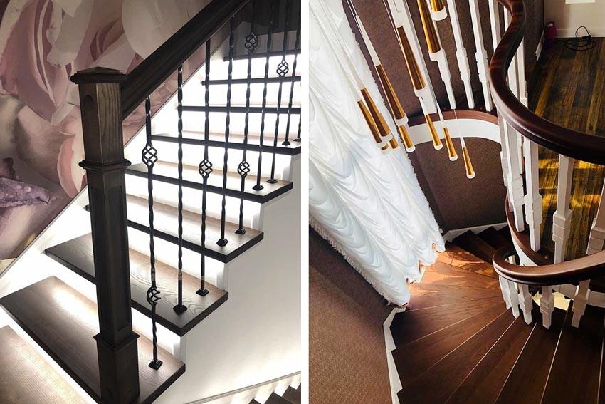 Деревянные лестницы (Одесса). Фото лестниц под заказ
